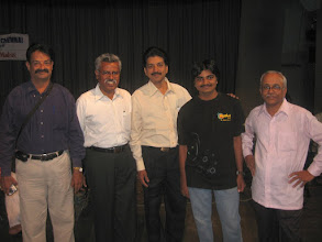 Photo: [from left] venkatraman, nagarajan, arunkumar, charun, jagat tarkas