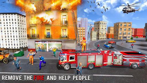 Fire Engine Truck Driving : Emergency Response 1.0.1 screenshots 6