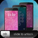 Slide to unlock-Passcode Lock Icon