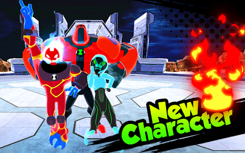 Hero Alien Force Ultimate Arena Mega Transform War 1