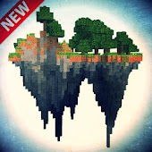 Sky Wars Atlantis map for MCPE