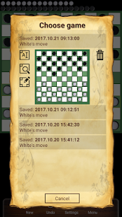 Draughts 10x10 - Checkers - náhled