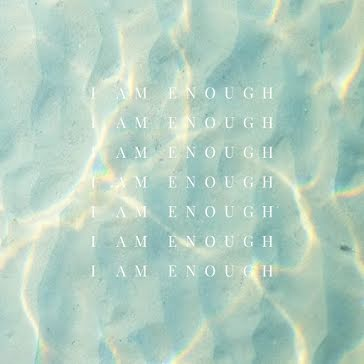 I Am Enough - Instagram Post template