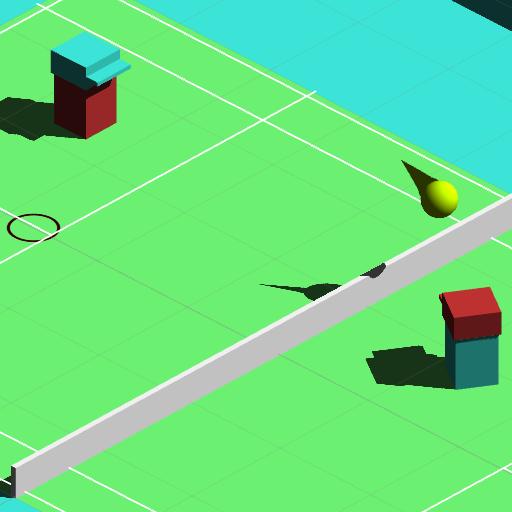 テニスゲームの3D Cubedの 體育競技 App LOGO-硬是要APP