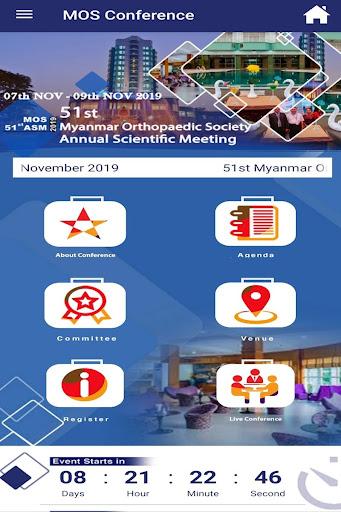 Myanmar Orthopaedic Society Meeting screenshot 3