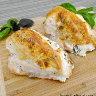 Basil Stuffed Chicken Breasts