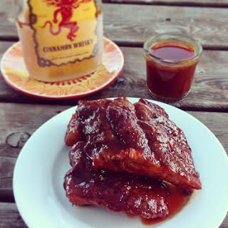 Fireball Whiskey Glazed Baby Back Ribs.