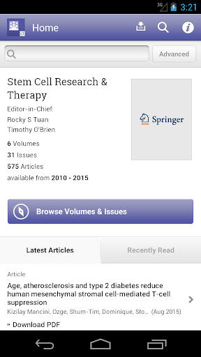 Stem Cell Research Therapy