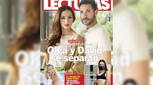 Antonio David Flores y Olga Moreno se separan después de un año en crisis
