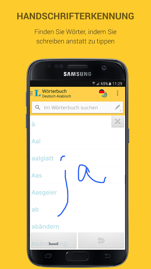 Practise your german with this free app for android/i-phone/i-pad.