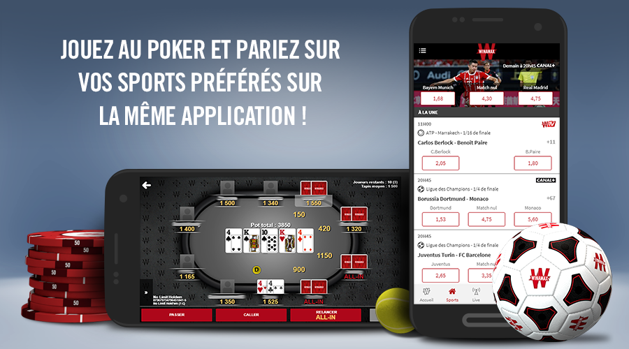 Winamax Poker, Paris Sportifs Android App Screenshot