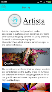 Artista : Graphics Design Shop- screenshot thumbnail