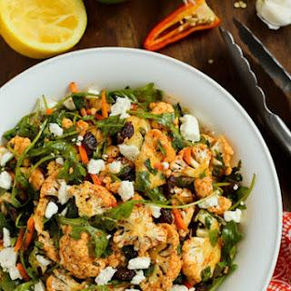 North African Cauliflower Salad with Charmoula Dressing.
