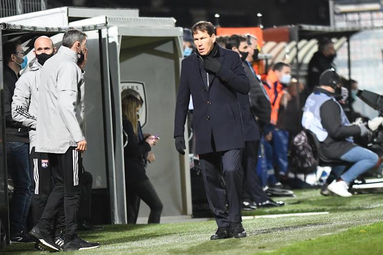 En fin de contrat à Lyon, Garcia ne panique pas