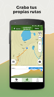 Wikiloc Navegación Outdoor GPS Screenshot