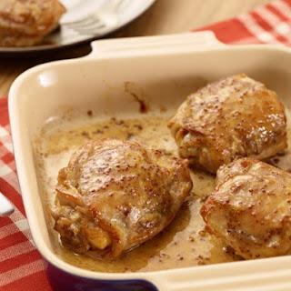 Maple Mustard Chicken Thighs Recipes