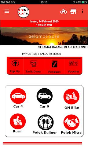 OnTime - Transportasi Online screenshot 2