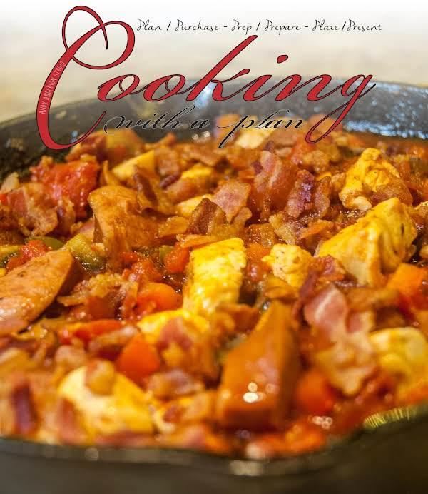 Autumn Essentials:chicken, Sausage, Veggie Skillet Recipe