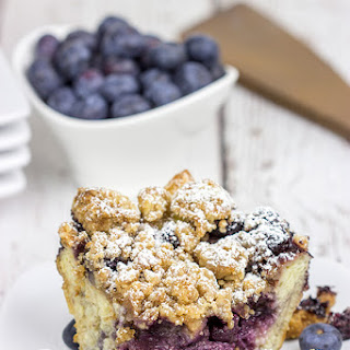 Overnight Blueberry French Toast Bake.