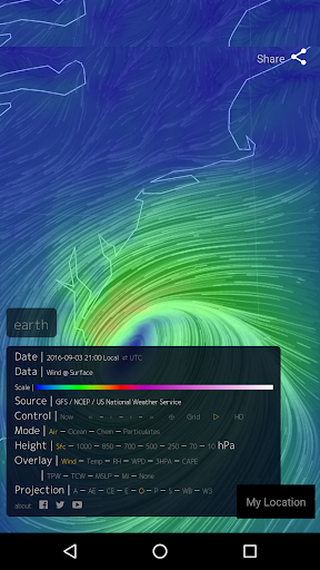 Wind Map ud83cudf2a Hurricane Tracker (3D Globe & Alerts) 2.2.9 Screenshots 9