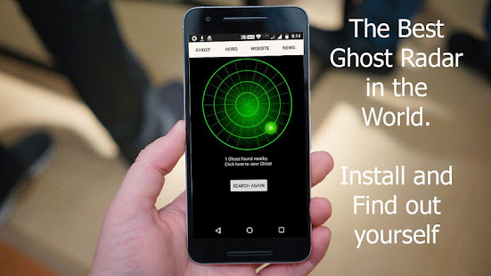 how to use ghost radar