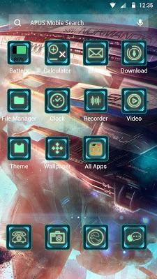 Universe-APUS Launcher theme - screenshot