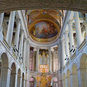 Versailles Chapel by Kwoh LK - Buildings & Architecture Places of Worship ( versailes, france, chapel )