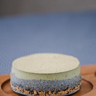 Matcha Sesame Cheesecakes