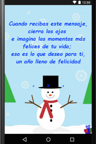 android Feliz Navidad para Whatsapp Screenshot 4