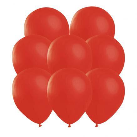 Ballonger, röda 25 st