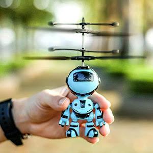 Jucarie interactiva, Robotelul zburator, Albastru