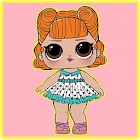 Coloring pages Surprise Dolls, LoL icon