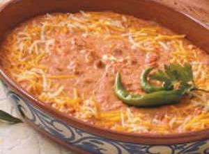 Cheesy Bean Dip Recipe