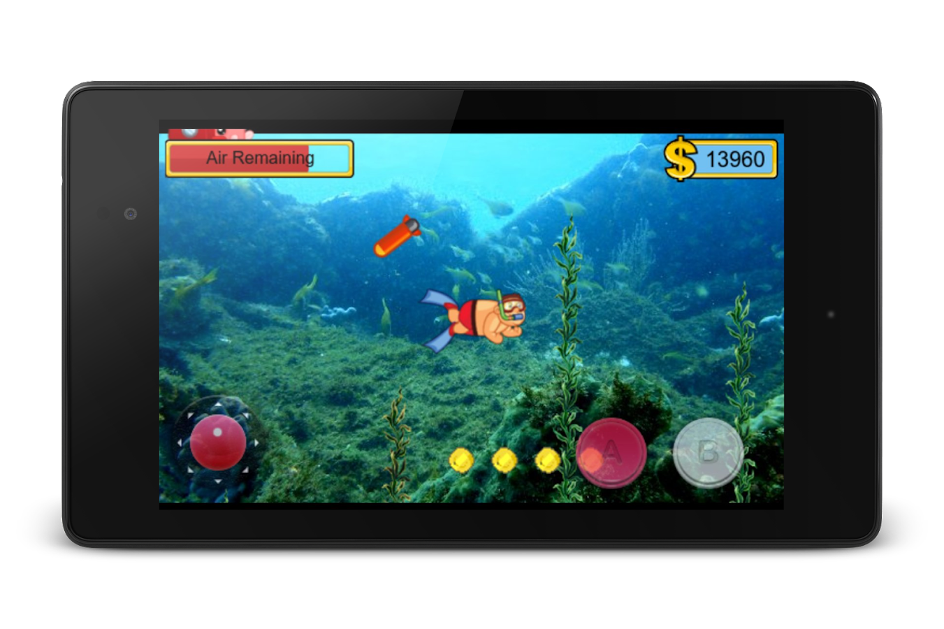 Diver Dan- screenshot