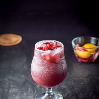 Scintillatingly Satisfying Sangria Cocktail