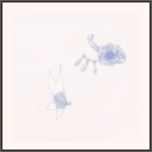 舞蝶の散華(紫)