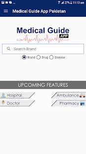 Medical Guide App Pakistan - náhled