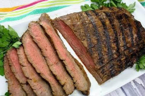 """""""My Fav"""" Marinated Flank Steak """"There's nothing better than grilling steak when..."""