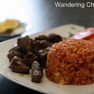 Com Do Ca Chua (Vietnamese Tomato Paste Red Rice)