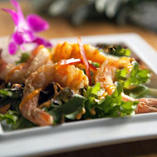 Thai Shrimp Salad with Coconut Dressing!