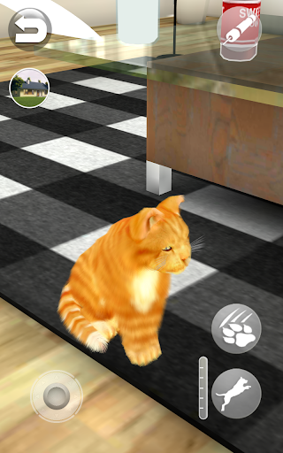 Talking Lovely Cat apkpoly screenshots 10