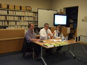 Photo: Presentació a la Biblioteca de Tarragona
