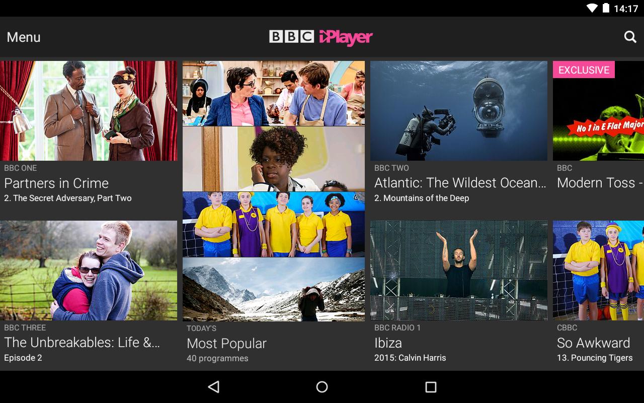 BBC iPlayer screenshot #17