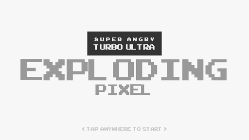Super Angry Exploding Pixel