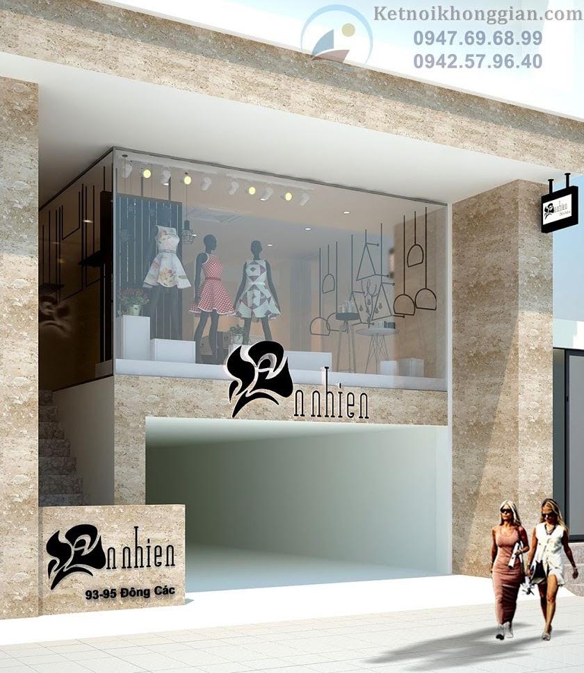 thiết kế shop thời trang nữ sang trọng, chuyên nghiệp