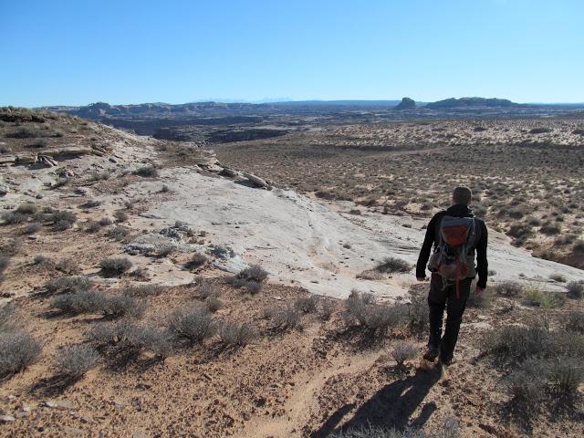 Descending toward Wolverton Canyon
