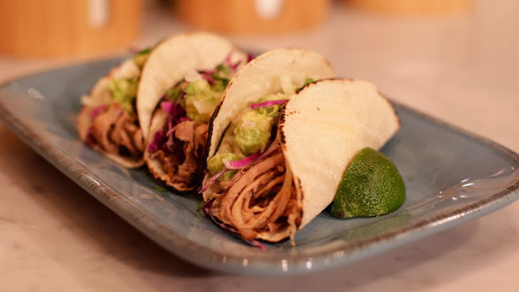 Chipotle Pork Soft Tacos Recipe