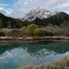 Reflection by Uroš Florjančič - Landscapes Mountains & Hills