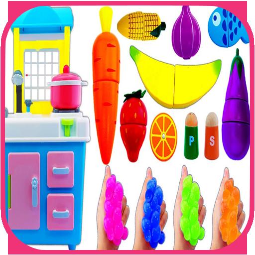 Kitchen Toys Cutting Fruit