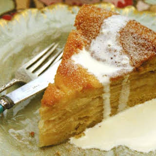 Drunken Apple Cake | Kuchen Borracho.